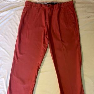 Tommy Hilfiger Men's Chino Pants - 34/32 Salmon